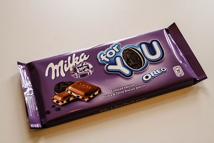 Milka for Oreo